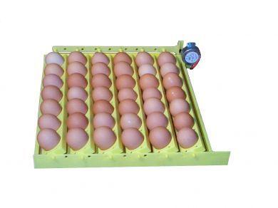 12VAC Universal Egg Turner with 6 Universal Egg Racks