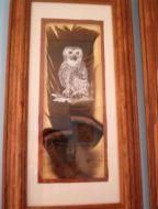 Owl Turkey Feather
